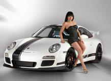 Porsche 911 GT3 Snowmobile фото