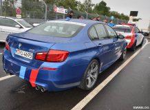 Фото BMW M5 F10 в качестве Ring Taxi