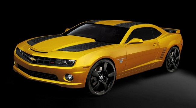 Chevrolet Camaro получил версию Transformers Edition
