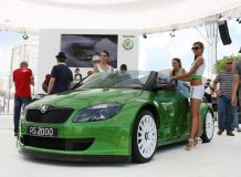 Skoda RS 2000 на Worthersee Tour 2011