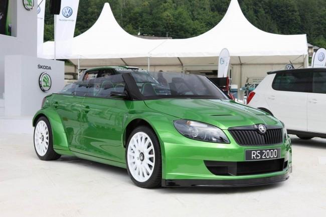 На Worthersee 2011 Шкода представила концепт Fabia RS 2000