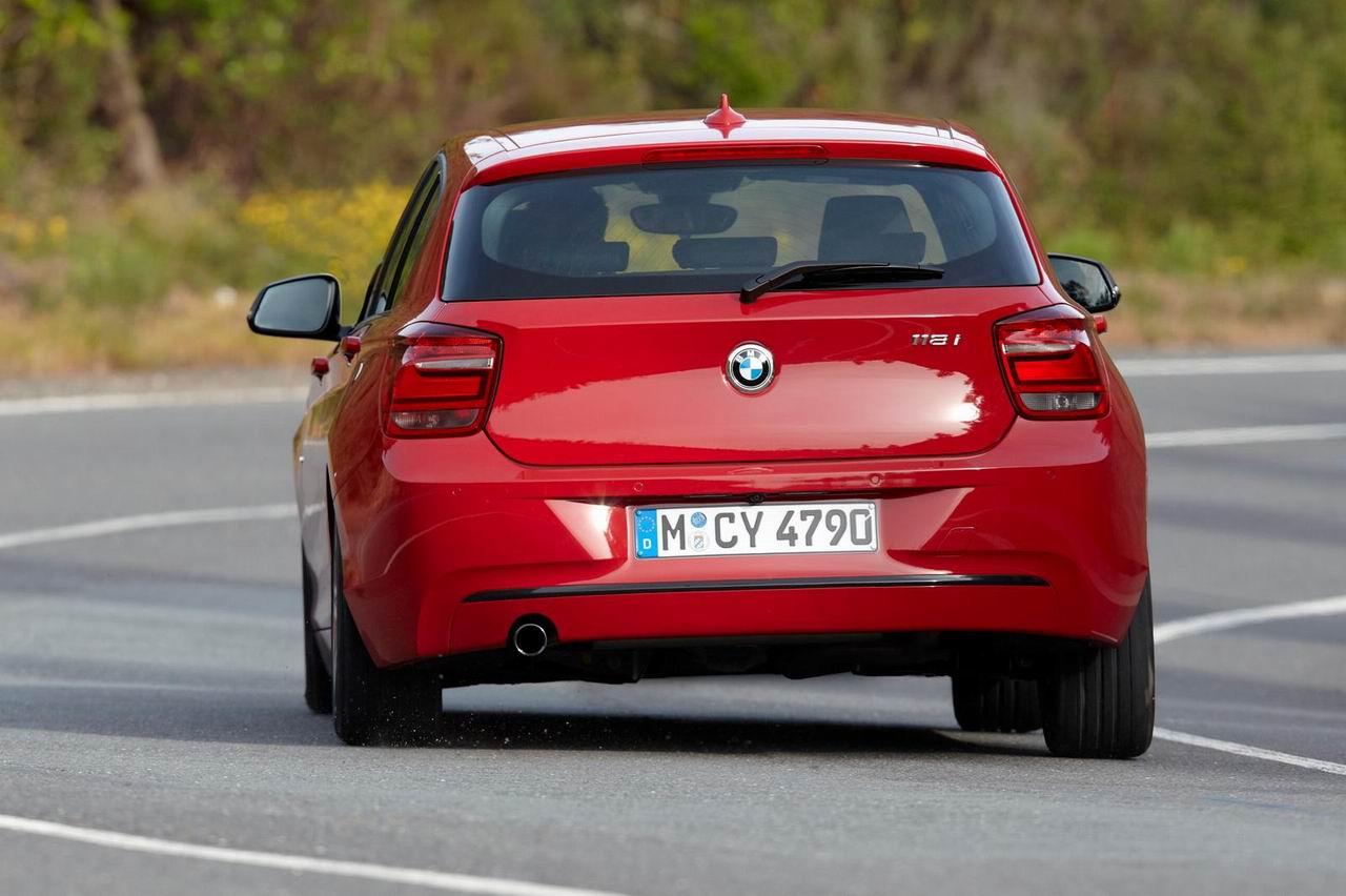 Фото нового BMW 1-Series F20