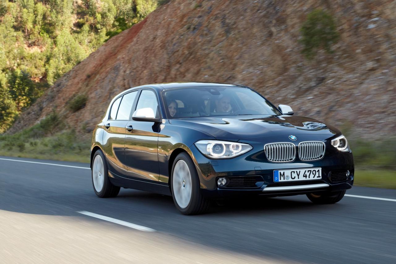 Фото BMW 1-Series 5D 2015