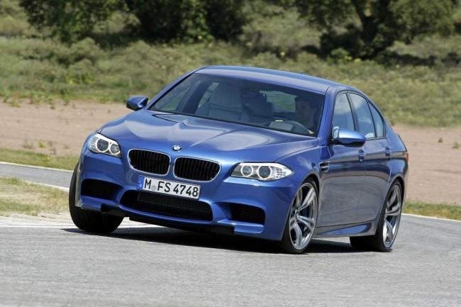 Фото новой BMW M5 F10