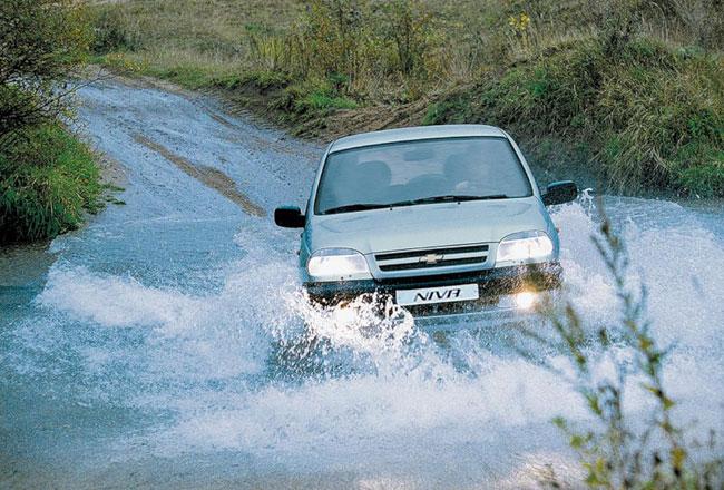 Фото внедорожника Chevrolet Niva