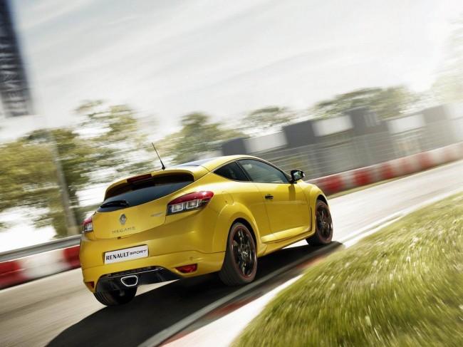 Renault рассекретила Megane RS Trophy