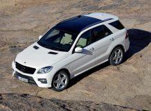Фото нового Mercedes ML-Class 2013