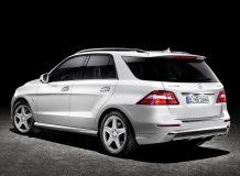 Новый Mercedes ML 2014 фото