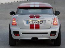 MINI Coupe вид сзади