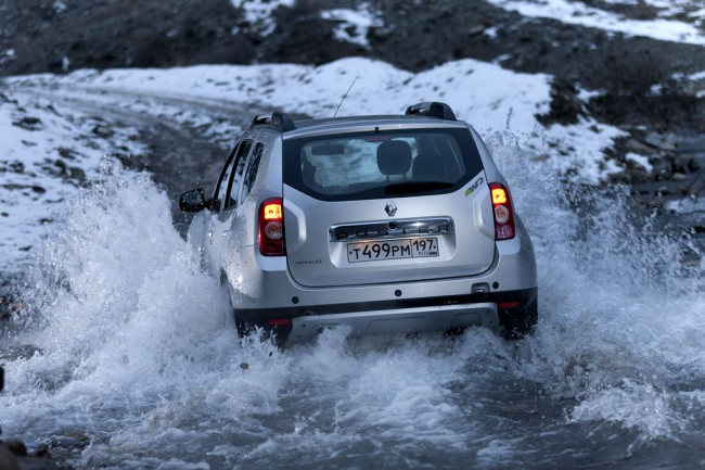 Renault Duster 4x4 фото