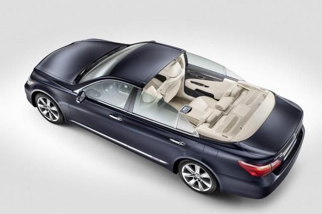 Lexus LS 600h L получил кузов Landaulet