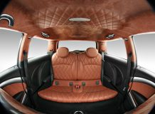 Тюнинг салона MINI Cooper S от ателье Vilner