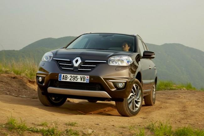 Обновленный Renault Koleos 2014 фото