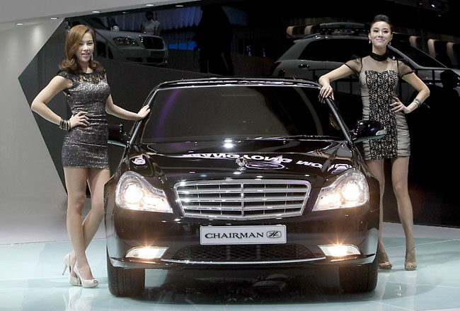 Седан SsangYong Chairman H
