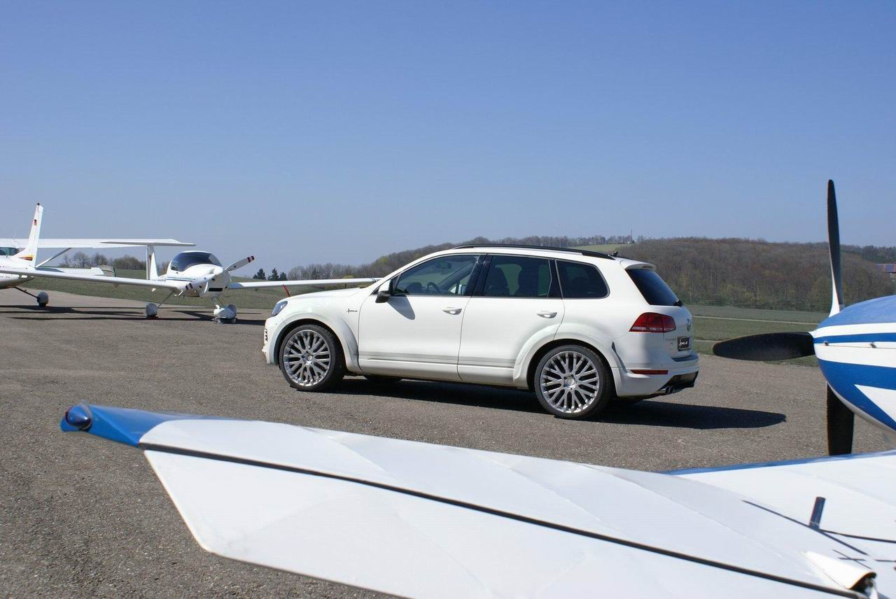 Фото тюнинг нового VW Touareg II