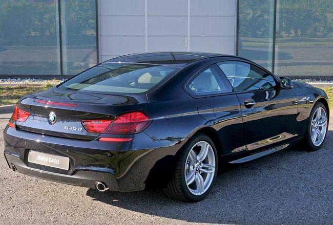 Дизельная BMW 640d 2012 фото