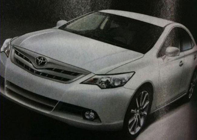 Первое изображение новой Toyota Camry 2012