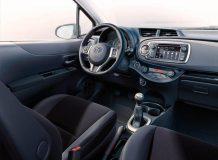 Салон новой Toyota Yaris 2012
