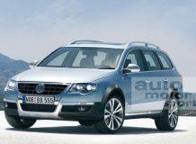 Компьютерное изображение 2012 VW CrossPassat