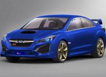 Рендер будущего купе 2014 Subaru WRX STI