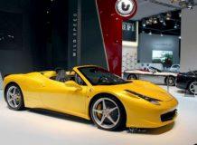 Рендер будущей Ferrari 458 Italia Spider
