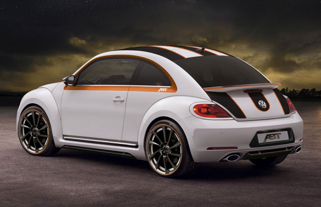 Тюнинг нового 2012 VW Beetle от ABT
