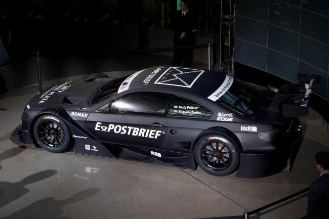 В Мюнхене представили гоночный болид BMW M3 DTM