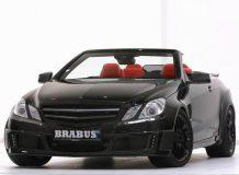 Фото тюнинг Brabus Mercedes E-Class Convertible