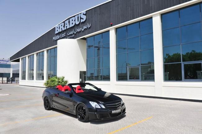 Brabus представил 800 E V12 Cabriolet