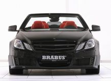Brabus 800 E V12 Cabriolet вид спереди