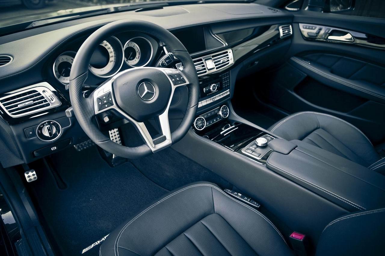 Тюнинг салона Mercedes CLS от ателье Kicherer