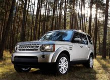 Автомобиль Land Rover Discovery 4