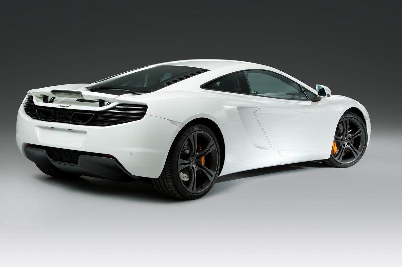Новый McLaren MP4-12C фото