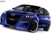 Фото тюнинг Mazda CX 7 GT