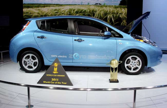 В Москве состоялась презентация Nissan Leaf