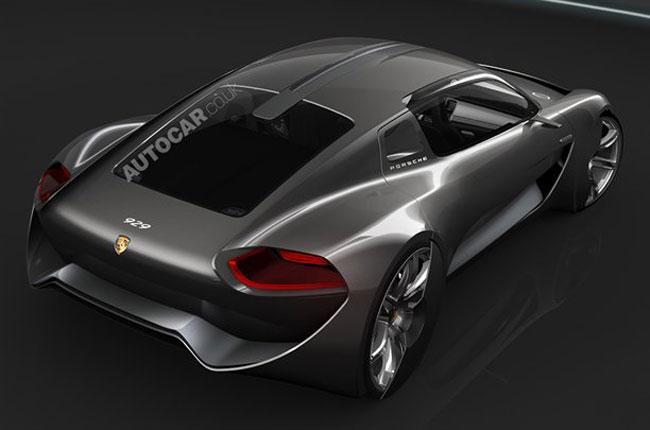 Компьютерное изображение Porsche 929