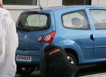 Шпионские фото Renault Twingo 2012