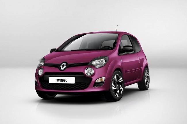 Первые фото обновленного Renault Twingo 2012