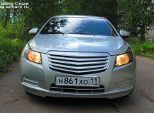 Тюнинг решетки Chevrolet Cruze фото