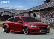 Chevrolet Cruze Coupe Render