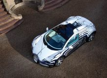 Veyron L'Or Blanc с элементами фарфора