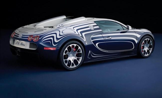 Bugatti Veyron Grand Sport получил версию L'Or Blanc