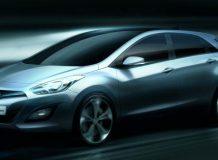 Первый рендер нового Hyundai i30 2012