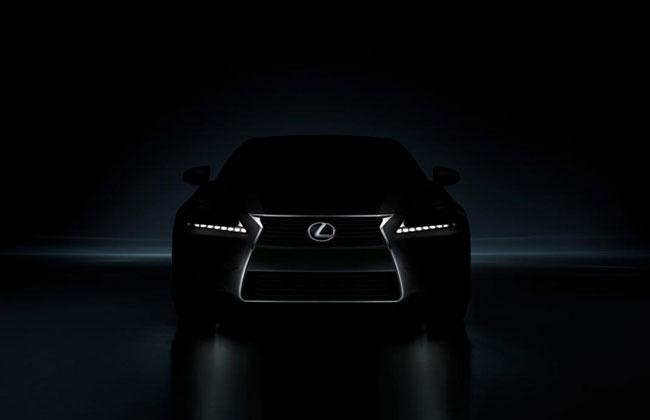 Тизер нового 2012 Lexus GS 350