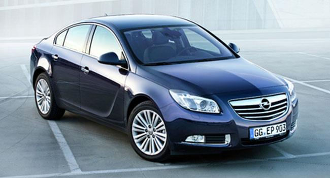 Обновленный Opel Insignia 2012 года