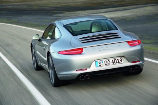 Первые фото нового 2012 Porsche 911
