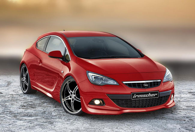 Тюнинг нового Opel Astra GTC 2012 от Irmscher