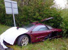 Роуэн Аткинсон разбил свой McLaren F1