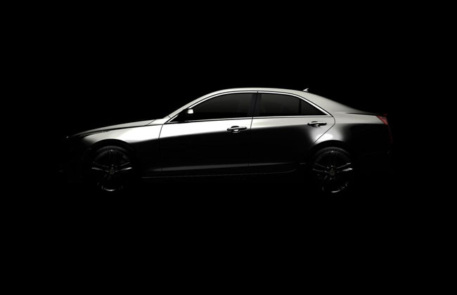 Тизер седана Cadillac ATS 2013