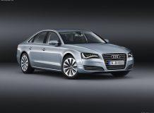 Фото нового Audi A8 Hybrid
